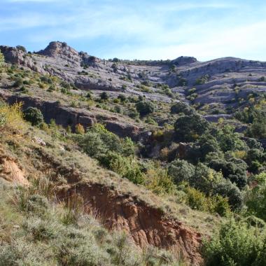 Foto 6: barranc de l'Escala.